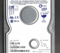 "Продам  недорого жёсткий  диск Maxtor  3,5"" РATA  (IDE), 60 гб, б/у .. Одесса. фото 1"