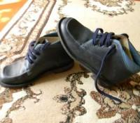 Ботинки весна-осень, по стельке-21 см, на шнуровке, торг уместен. Ромни, Сумська область. фото 2