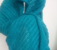 Продам новый шарф-хомут изумрудного цвета.. Киев. фото 1
