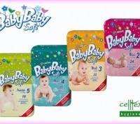 Детские подгузники Baby Baby Soft (Словакия).. Черкассы. фото 1