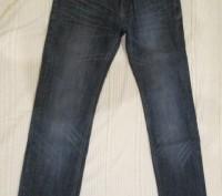 джинсы подростковые,в идеальном состоянии,уже подшиты,темно синего цвета ближе к. Полтава, Полтавська область. фото 3