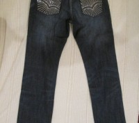 джинсы подростковые,в идеальном состоянии,уже подшиты,темно синего цвета ближе к. Полтава, Полтавська область. фото 4
