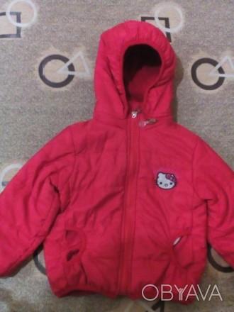 Продам,осенне-весеннюю курточку на девочку на флисовой подкладке 104р,в отличном. Бровары, Киевская область. фото 1