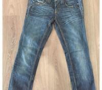 Женские классические джинсы синего цвета рр м/28. Мелитополь. фото 1