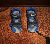 Продам сандалии на мальчика Timberland. Ребёнок не успел поносить, пару раз все. Запорожье, Запорожская область. фото 2