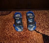 Продам сандалии на мальчика Timberland. Ребёнок не успел поносить, пару раз все. Запорожье, Запорожская область. фото 5
