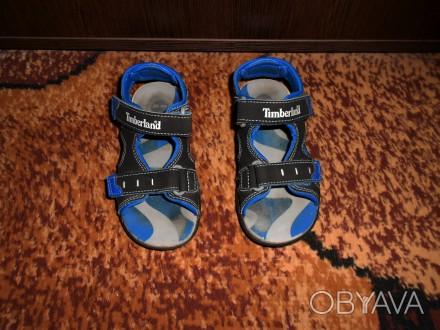 Продам сандалии на мальчика Timberland. Ребёнок не успел поносить, пару раз все. Запорожье, Запорожская область. фото 1