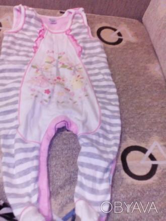 Человечек для девочки в отличном состоянии, подойдет от 3 до 6 месяцев.. Бровари, Київська область. фото 1