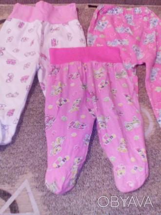 Ползунки для девочки,в хорошем состоянии, подойдут на девочку от 0-3 месяцев. Це. Бровари, Київська область. фото 1