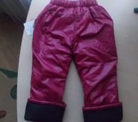 Теплые, новые, зимние штаны для девочки Qiao Gong (Польша) бордового цвета в чер. Киев, Киевская область. фото 5