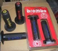 Ручки Brembo, под руль диаметром 22 мм Очен мягкие ручки, комфортные в использов. Запорожье, Запорожская область. фото 3