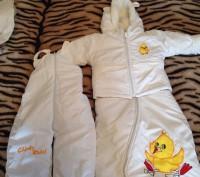 Зимний костюм с конвертом. Бровары. фото 1