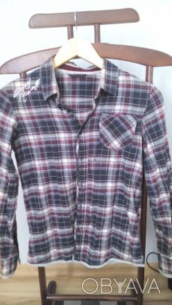 Рубашка для мальчика на 9-12 лет. Замечательного качества, привезена из Италии. . Бердянськ, Запорізька область. фото 1