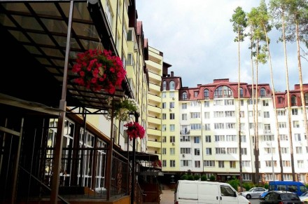 Светлая  квартира расположена в доме бизнес-класса возле лесной зоны. Кухня дост. Ирпень, Киевская область. фото 4