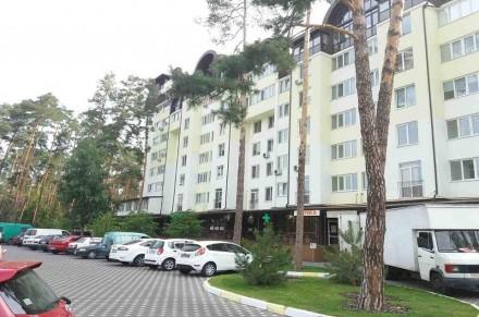 Светлая  квартира расположена в доме бизнес-класса возле лесной зоны. Кухня дост. Ирпень, Киевская область. фото 2