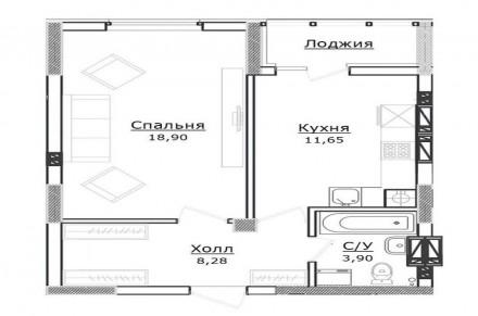 Светлая  квартира расположена в доме бизнес-класса возле лесной зоны. Кухня дост. Ирпень, Киевская область. фото 5