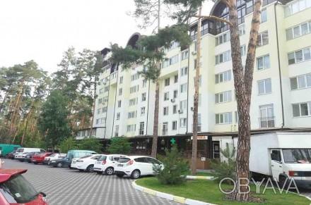 Светлая  квартира расположена в доме бизнес-класса возле лесной зоны. Кухня дост. Ирпень, Киевская область. фото 1