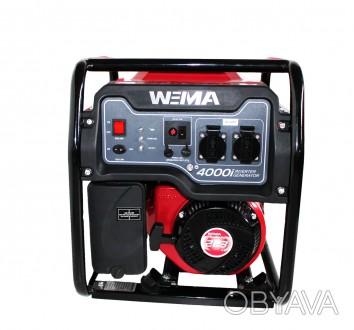Генератор бензиновый инверторный WEIMA WM4000i (4 кВт, инверторный, 1 фаза, ручн