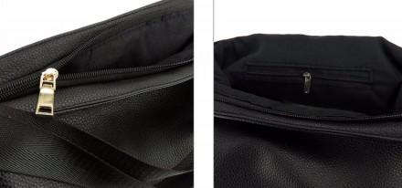 Сумка изготовлена из искусственной кожи, застегивается на молнию Сумка имеет оди. Запорожье, Запорожская область. фото 7