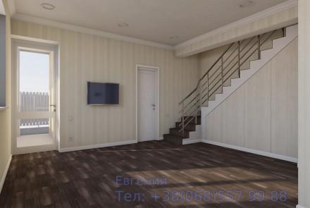 Ищешь дом своей мечты? Продается полностью готовая часть в доме на две семьи на. Суворовский, Одесса, Одесская область. фото 7