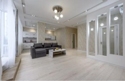 Сдам апартаменты в Аркадии. Две раздельные спальни, плюс просторная кухня студия. Приморский, Одесса, Одесская область. фото 3