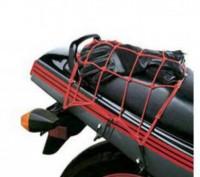 """Сетка""""паук"""" для крепления багажа к байку, размеры сетки примерно 40см*40см, 25 я. Запорожье, Запорожская область. фото 6"""