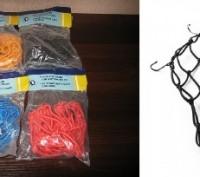 """Сетка""""паук"""" для крепления багажа к байку, размеры сетки примерно 40см*40см, 25 я. Запорожье, Запорожская область. фото 7"""