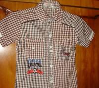 рубашка была одета один раз на фотосессию. размер 15. замеры по запросу.. Кременчуг, Полтавская область. фото 2