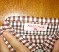рубашка была одета один раз на фотосессию. размер 15. замеры по запросу.. Кременчуг, Полтавская область. фото 5