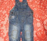 джинсовый комбенизон. Кременчуг. фото 1
