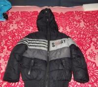 зимняя куртка очень теплая. Целая негде не порвана на синтепоне и с меховой подк. Кременчуг, Полтавская область. фото 2