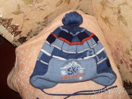 продам зимнюю шапку для мальчика на возрост примерно 5-7 лет в хорошем состоянии. Кременчуг, Полтавская область. фото 1