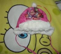 шапка в хорошем состоянии очень теплая размер 3. сзади на резинке. Кременчук, Полтавська область. фото 3