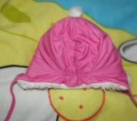 шапка в хорошем состоянии очень теплая размер 3. сзади на резинке. Кременчук, Полтавська область. фото 5