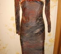 платье нарядное 42-44р. Никополь. фото 1