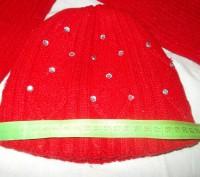Шапка и шарф для девочки 7-9 лет в хорошем состоянии,только потеряли камешек с ш. Полтава, Полтавская область. фото 4