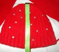 Шапка и шарф для девочки 7-9 лет в хорошем состоянии,только потеряли камешек с ш. Полтава, Полтавская область. фото 3