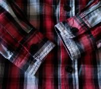 Рубашка на 3 года (рост 98-104 см). Одевалась всего 2 раза в садик.  Замеры: . Запоріжжя, Запорізька область. фото 5