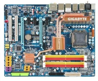 Материнская плата Gigabyte GA-X48-DQ6 LGA 775 DDR2 8 г SATA2 ATX. Киев. фото 1
