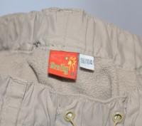 Теплые штанишки на флисовой подкладке,верх плащевка,рост 98-104 впереди и сзади . Кременчуг, Полтавская область. фото 5