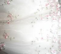 Красивое платье с подъюбниками и вышивкой лентами ,розочки с кофточкой на 1-3 го. Черкаси, Черкаська область. фото 4