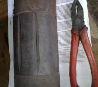 отличные тиски бу,не крашены без люфтов станочные  поворотные чугун нужны н. Запорожье, Запорожская область. фото 6