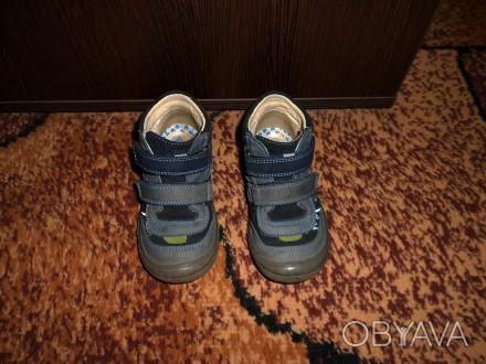 Продам демисезонные ботинки Bartek на мальчика.  26 размер, по стельке 16,5 см.. Запорожье, Запорожская область. фото 1