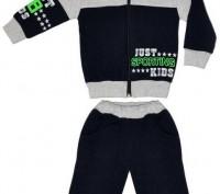 Оригинальная модель спортивного костюма для мальчика. Полотно - хлопок с начесом. Горишные Плавни, Полтавская область. фото 2