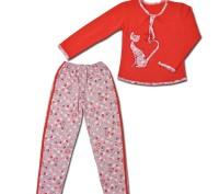 Пижама теплая для девочки. Горишные Плавни. фото 1