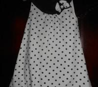 1)розовый трикотажный сарафан на 3 г.На бретельках,в оборку,тонкий трикотаж,сос. Київ, Київська область. фото 4