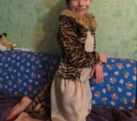 Костюм Тигрёнка на возраст 6-9 лет. Прокат. Харьков. фото 1