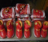 Продам детские зимние дутики на меху.  чёрные,красные-размеры- 24- 25- 26- 27- 2. Запорожье, Запорожская область. фото 13