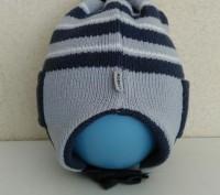 Продам шапку детскую зимнюю теплую ( двойная ) в хорошем состоянии без дефектов. Полтава, Полтавська область. фото 4