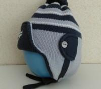 Продам шапку детскую зимнюю теплую ( двойная ) в хорошем состоянии без дефектов. Полтава, Полтавська область. фото 3